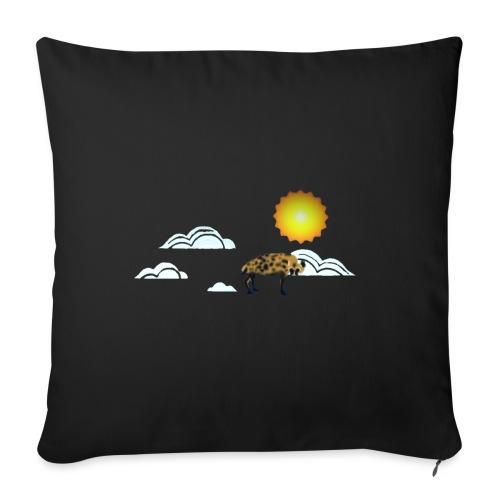 Slightly Looming Nonstandard Refraction Hyena - Sofa pillowcase 17,3'' x 17,3'' (45 x 45 cm)
