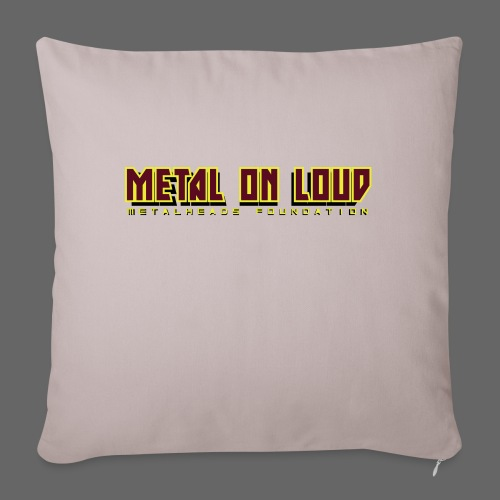 MOL Letter Logo Randy - Sofa pillowcase 17,3'' x 17,3'' (45 x 45 cm)