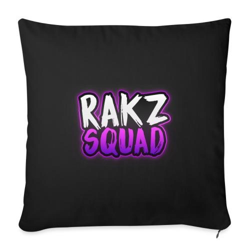 RakzSquad First Merch - Sofa pillowcase 17,3'' x 17,3'' (45 x 45 cm)