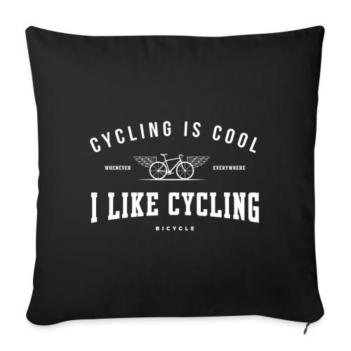 cycling - Poszewka na poduszkę 45 x 45 cm