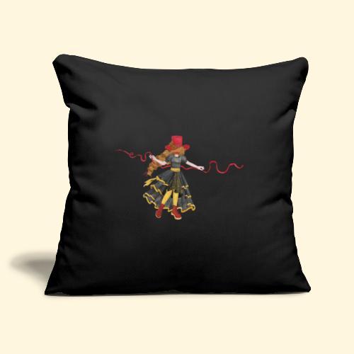 Ladybird - La célèbre uchronaute - Housse de coussin décorative 45x 45cm