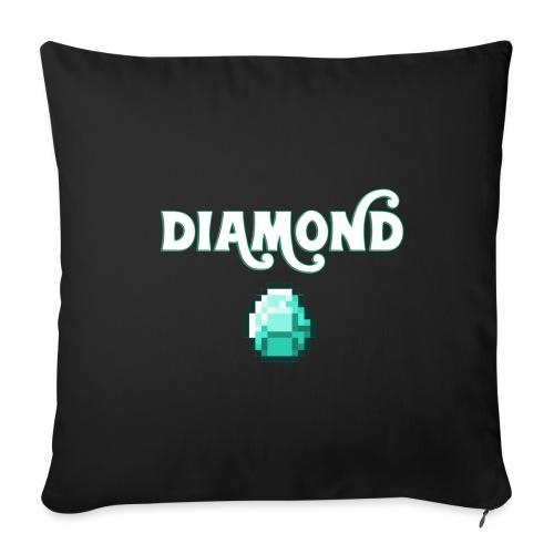 Diamond Boos - Copricuscino per divano, 45 x 45 cm