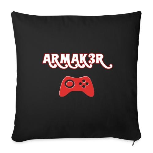 ARMAK3R - Copricuscino per divano, 45 x 45 cm