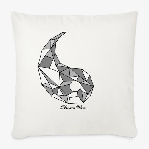 DreamWave Yang - Housse de coussin décorative 45x 45cm