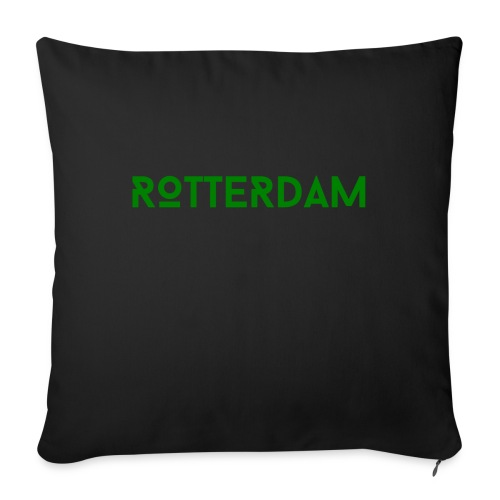 Rotterdam (Groen) - Sierkussenhoes, 45 x 45 cm