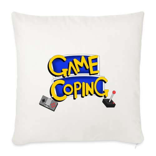 Game Coping Logo - Sofa pillowcase 17,3'' x 17,3'' (45 x 45 cm)