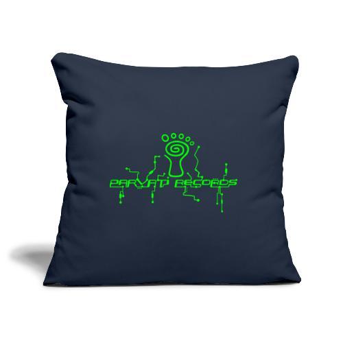 Parvati Records logo - Sofa pillowcase 17,3'' x 17,3'' (45 x 45 cm)