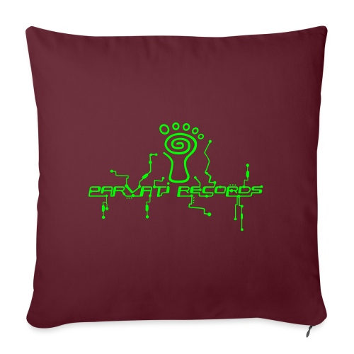 Parvati Records logo - Sofa pillowcase 17,3'' x 17,3'' (45 x 45 cm)