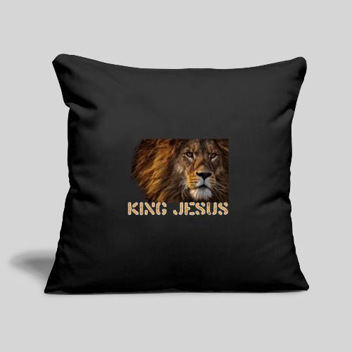 König Jesus der Löwe von Juda - Sofakissenbezug 44 x 44 cm