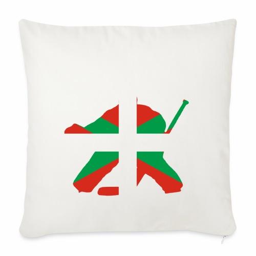 goalie et basque - Housse de coussin décorative 45x 45cm