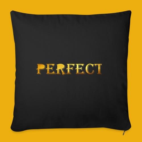 perfect metalic gold merch - Sofa pillowcase 17,3'' x 17,3'' (45 x 45 cm)