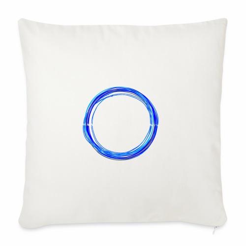 ElectroNoize Logo BLUE PX - Sofakissenbezug 44 x 44 cm