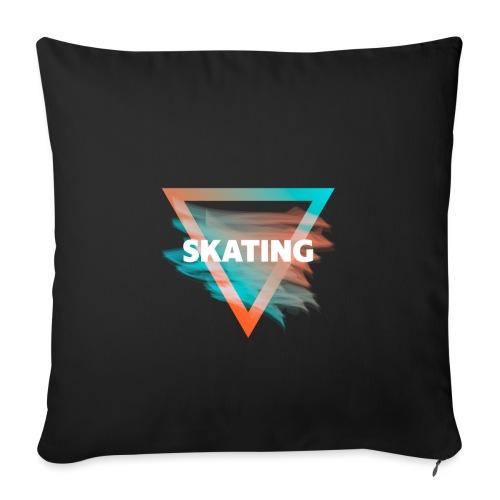 Skating Diffus - Sofakissenbezug 44 x 44 cm