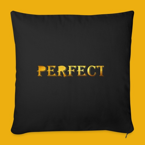 perfect metalic gold merch - Sofa pillowcase 17,3'' x 17,3'' (45 x 45 cm)