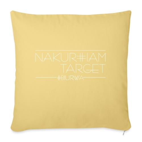 Nakurwiam Target - BLACK - Poszewka na poduszkę 45 x 45 cm