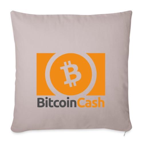 Bitcoin Cash - Sohvatyynyn päällinen 45 x 45 cm