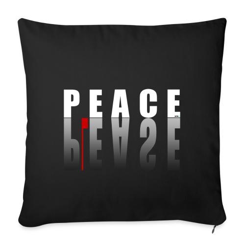 66_PeacePlease_02_ - Sofakissenbezug 44 x 44 cm