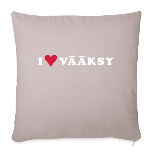I LOVE VAAKSY - Sohvatyynyn päällinen 45 x 45 cm