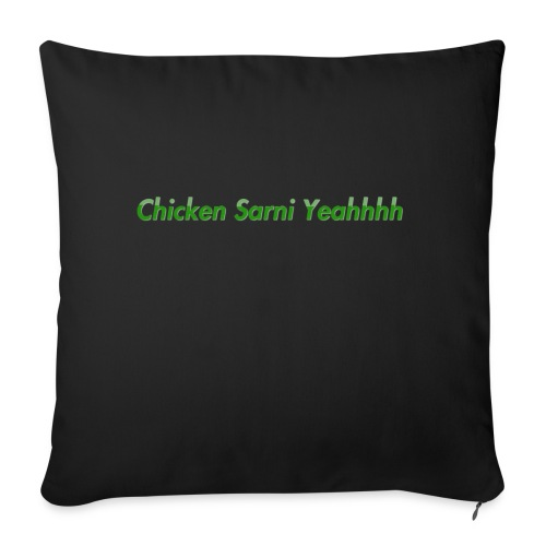Chicken Sarni Yeah - Sofa pillowcase 17,3'' x 17,3'' (45 x 45 cm)