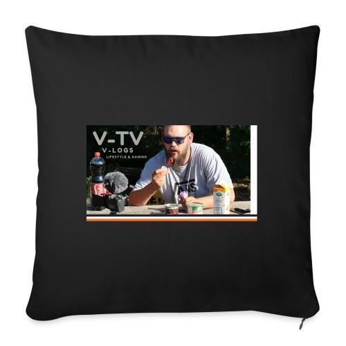 V-TV - Pudebetræk 45 x 45 cm