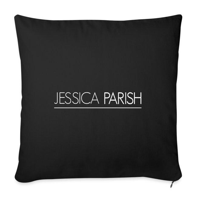 Jessica Parish Schriftzug weiß