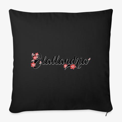 Elallandria logo - Sofa pillowcase 17,3'' x 17,3'' (45 x 45 cm)