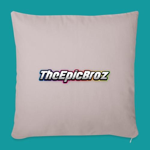 TheEpicBroz - Sierkussenhoes, 45 x 45 cm