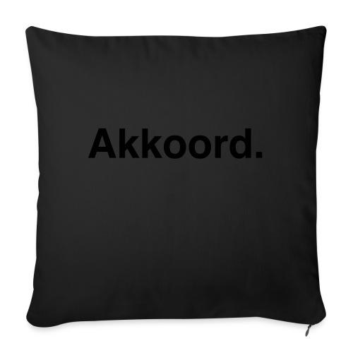 Akkoord - Sierkussenhoes, 45 x 45 cm
