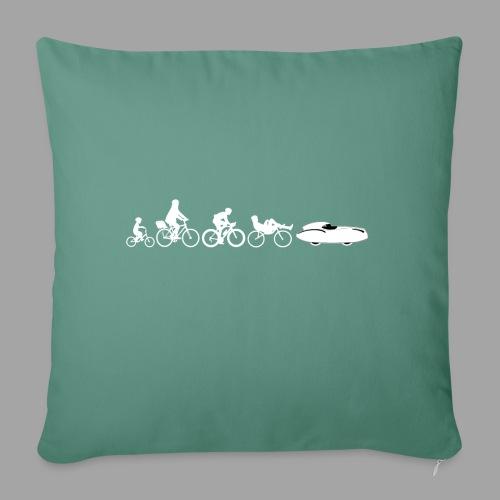 Bicycle evolution white Quattrovelo - Sohvatyynyn päällinen 45 x 45 cm