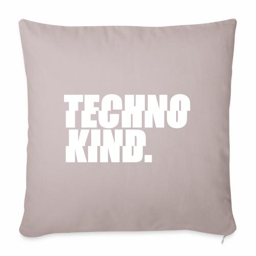 Techno Kind Rave Kultur Berlin Vinyl Progressive - Sofakissenbezug 44 x 44 cm