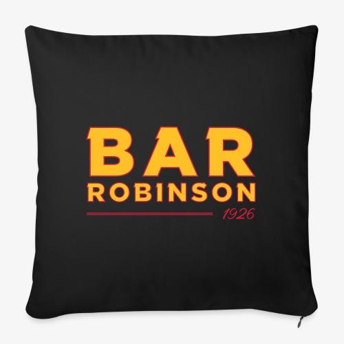 Logo Bar Robinson - Sofa pillowcase 17,3'' x 17,3'' (45 x 45 cm)