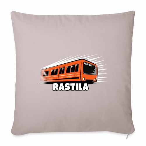 RASTILA Helsingin metro t-paidat, vaatteet, lahjat - Sohvatyynyn päällinen 45 x 45 cm