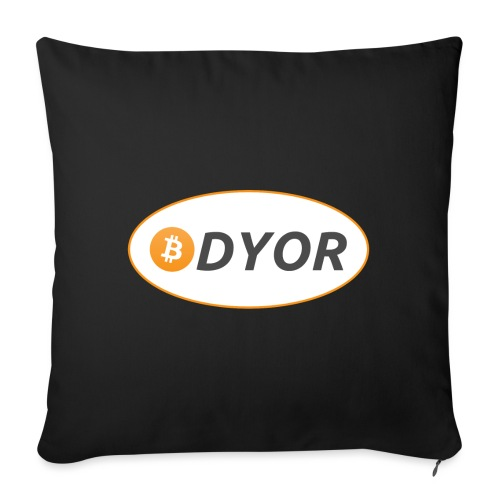 DYOR - option 2 - Sofa pillowcase 17,3'' x 17,3'' (45 x 45 cm)
