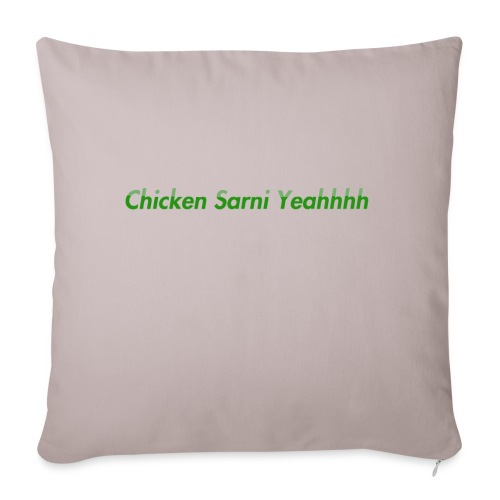 Chicken Sarni Yeah - Sofa pillowcase 17,3'' x 17,3'' (45 x 45 cm)