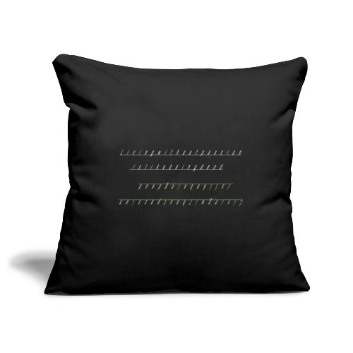 Living Without Passion is like Being Dead - Sofa pillowcase 17,3'' x 17,3'' (45 x 45 cm)