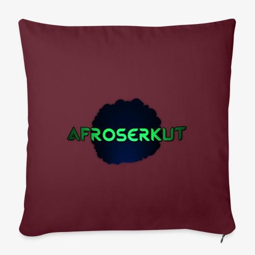 AfroSerkut LOGO - Sohvatyynyn päällinen 45 x 45 cm