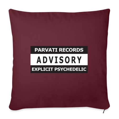 Advisory - Explicit Psychedelic - Sofa pillowcase 17,3'' x 17,3'' (45 x 45 cm)