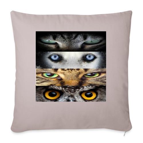 eyes cats - Housse de coussin décorative 45x 45cm