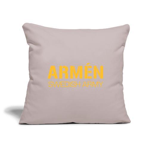 ARMÉN -Swedish Army - Soffkuddsöverdrag, 45 x 45 cm