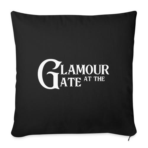 LOGO Glamour at the Gate² - Housse de coussin décorative 45x 45cm