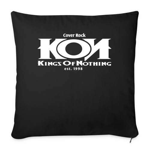 KON - Logo - Sofakissenbezug 44 x 44 cm