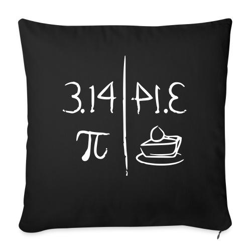 pi vs pie - Sofa pillowcase 17,3'' x 17,3'' (45 x 45 cm)