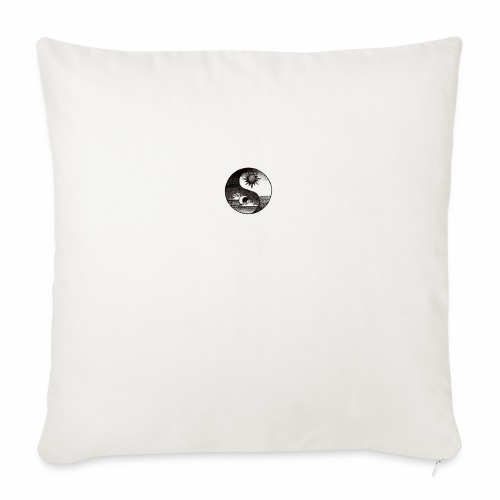 SUN AND MOON - Sofa pillowcase 17,3'' x 17,3'' (45 x 45 cm)