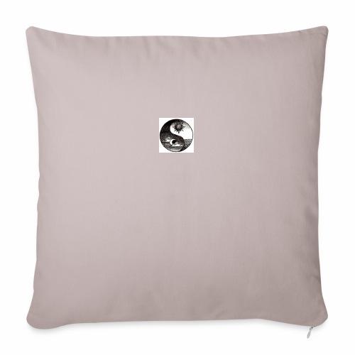 SUN AND MOON - Sofa pillowcase 17,3'' x 17,3'' (45 x 45 cm)