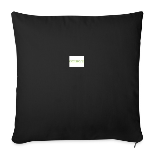 deathnumtv - Sofa pillowcase 17,3'' x 17,3'' (45 x 45 cm)