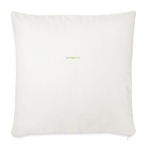 deathnumtv - Sofa pillowcase 17,3'' x 17,3'' (45 x 45 cm)