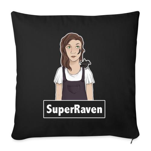 SuperRaven - Sofa pillowcase 17,3'' x 17,3'' (45 x 45 cm)