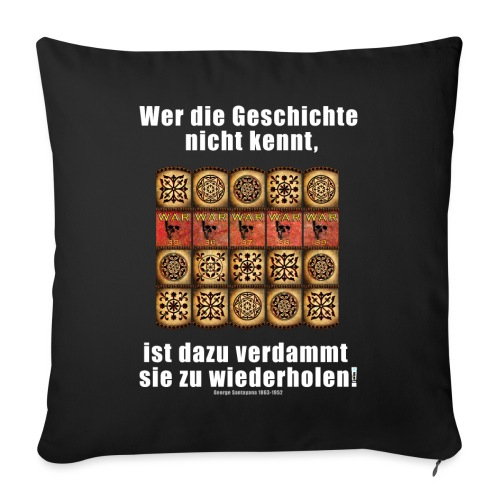 71_Geschichte_Lernen - Sofakissenbezug 44 x 44 cm