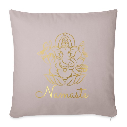 Namaste - Sofa pillowcase 17,3'' x 17,3'' (45 x 45 cm)