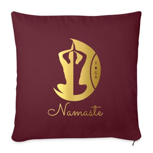 Namaste - Sofa pillowcase 17,3'' x 17,3'' (45 x 45 cm)